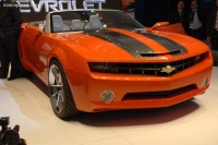 Popular 2008 Camaro Convertible Concept Wallpaper
