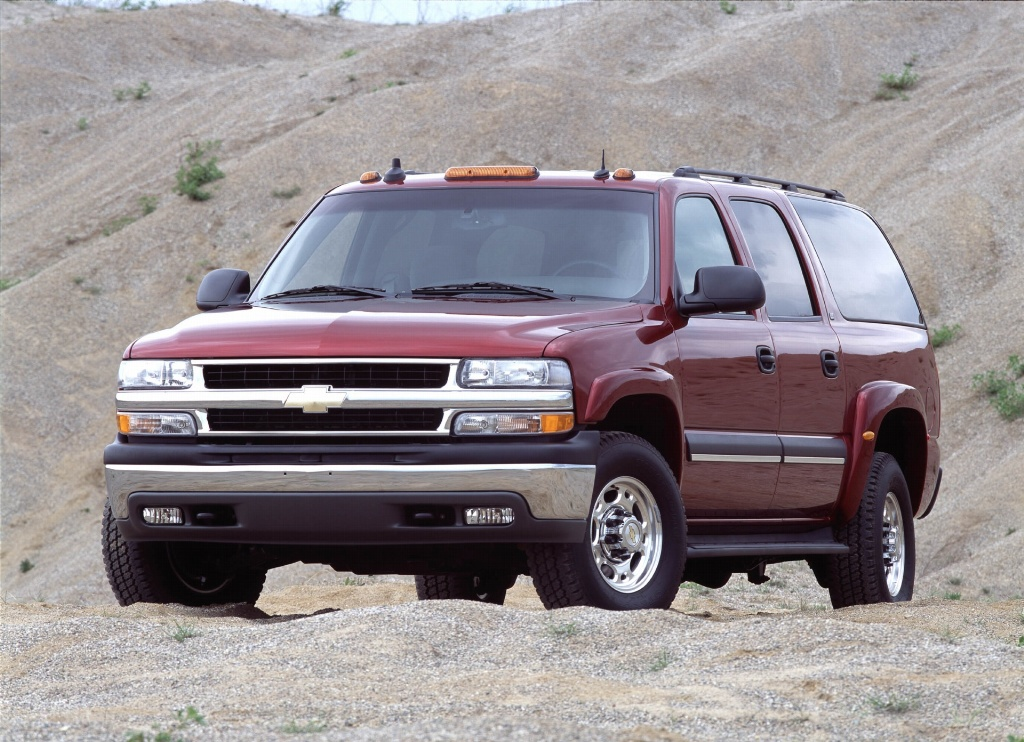 2003 chevrolet suburban pictures history value research. Black Bedroom Furniture Sets. Home Design Ideas