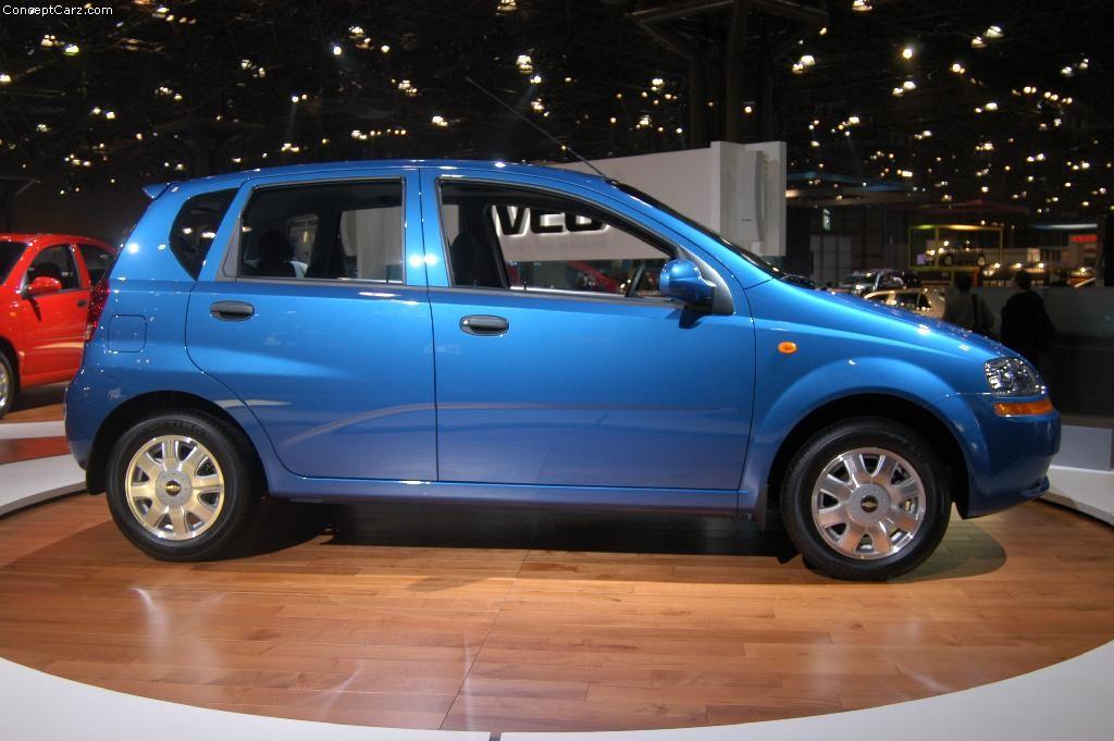 2003 Chevrolet Aveo 5-Door Image. https://www.conceptcarz ...