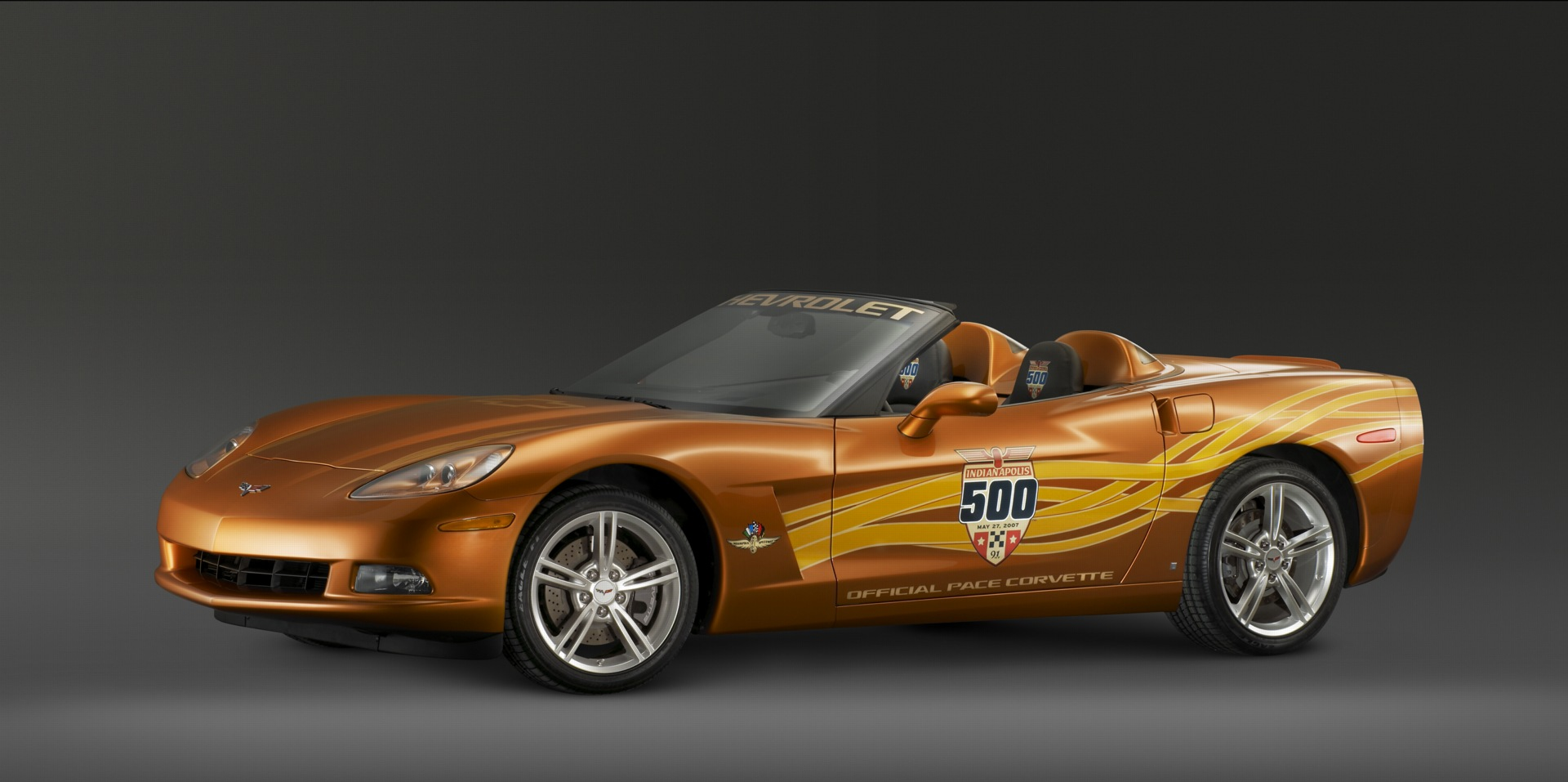 2007 Chevrolet Corvette Indy 500 Pace Car History