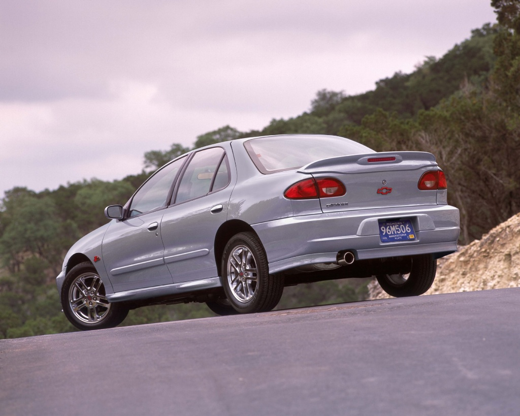 Auction results and sales data for 2002 Chevrolet Cavalier - conceptcarz.com