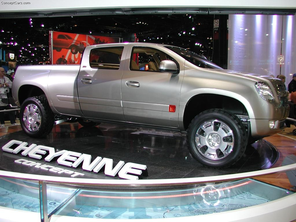 2003 Chevrolet Cheyenne Concept Image. Photo 13 of 46