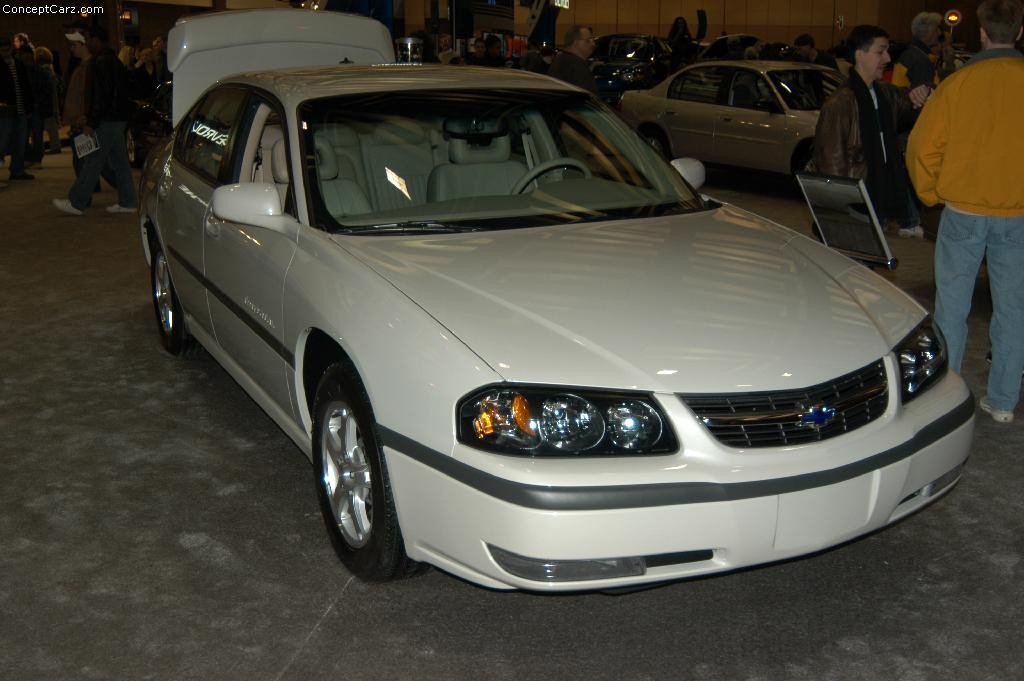 Muscle Cars Ford >> 2003 Chevrolet Impala History, Pictures, Value, Auction Sales, Research and News