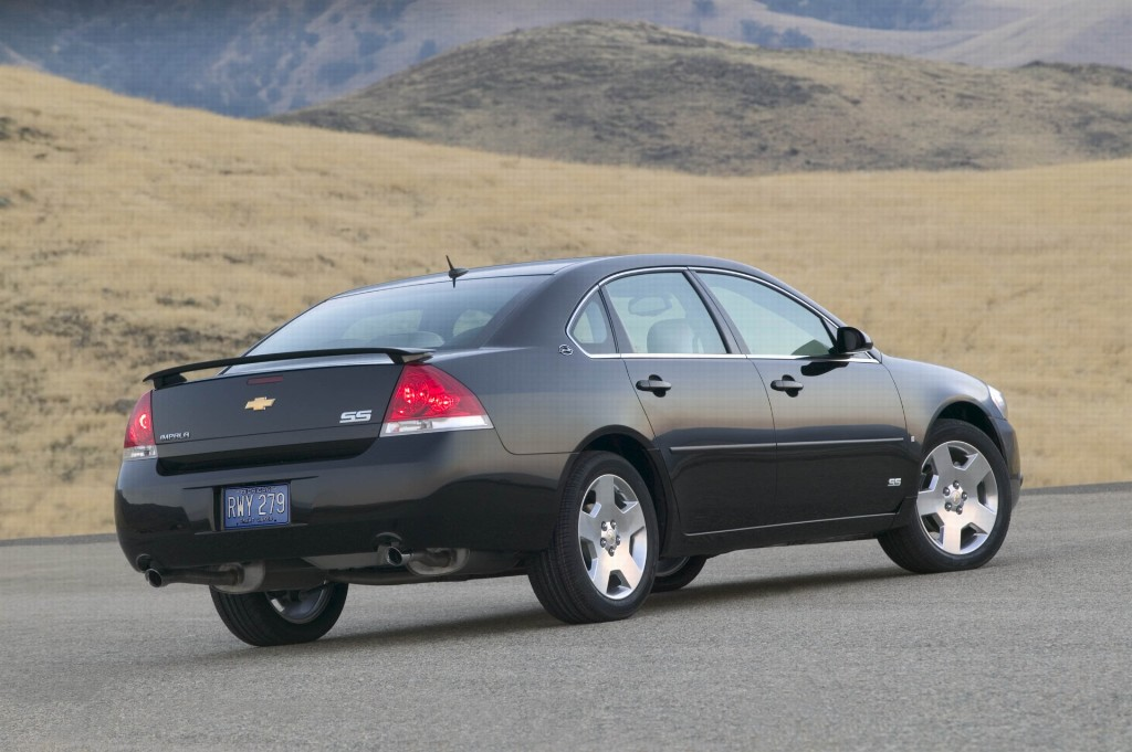 2007 Chevrolet Impala Pictures History Value Research