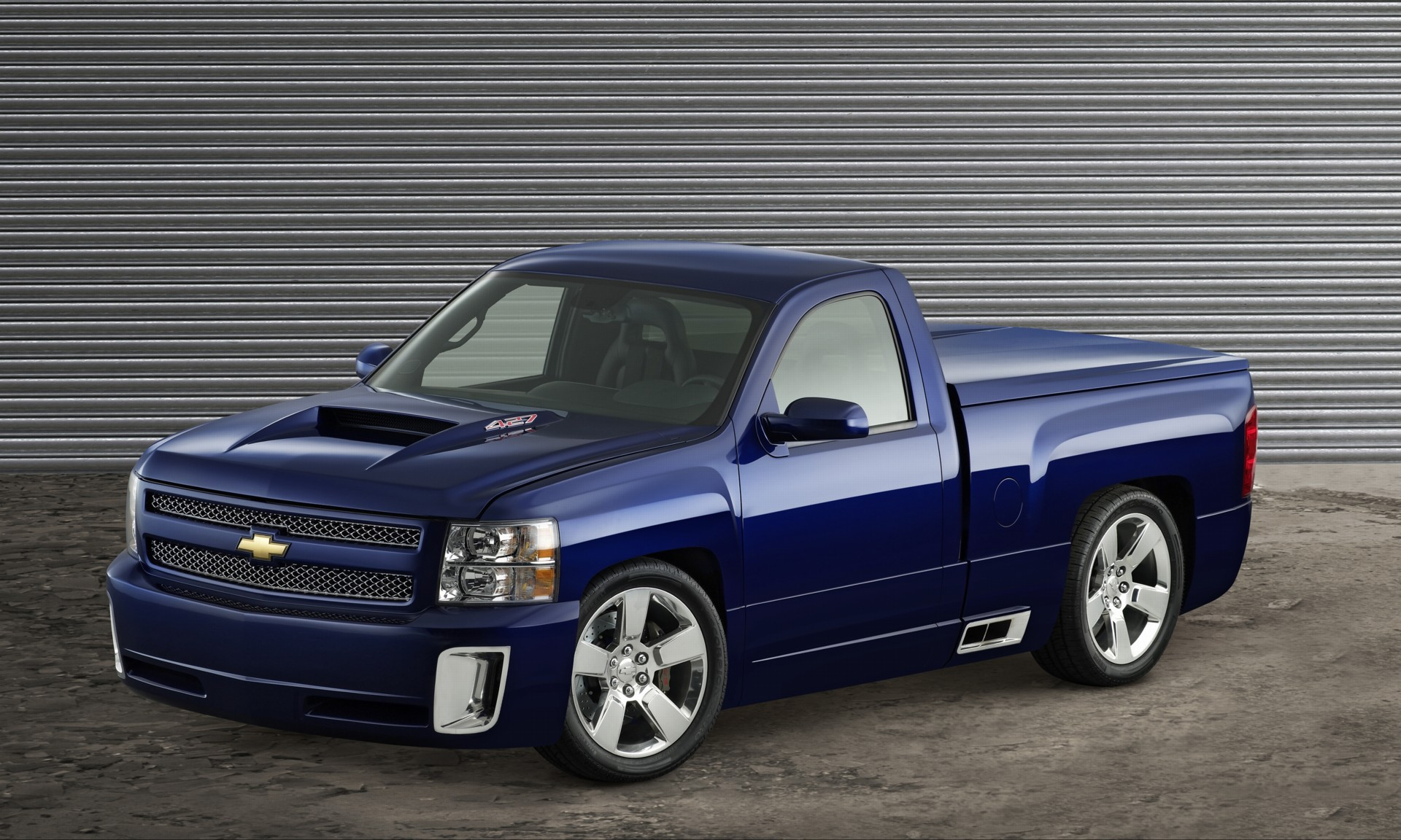 2006 chevrolet silverado 427 concept history pictures value auction sales research and news. Black Bedroom Furniture Sets. Home Design Ideas