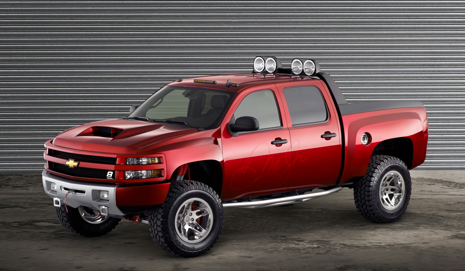 2006 Chevrolet Silverado Dale Earnhardt Jr Big Red
