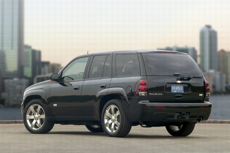 2007 Chevrolet Trailblazer History Pictures Value Auction Sales