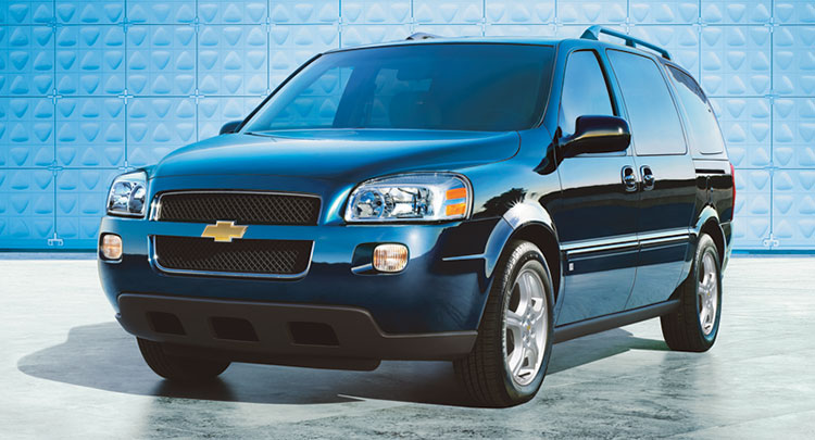 2006 Chevrolet Uplander History Pictures Value Auction Sales Research And News