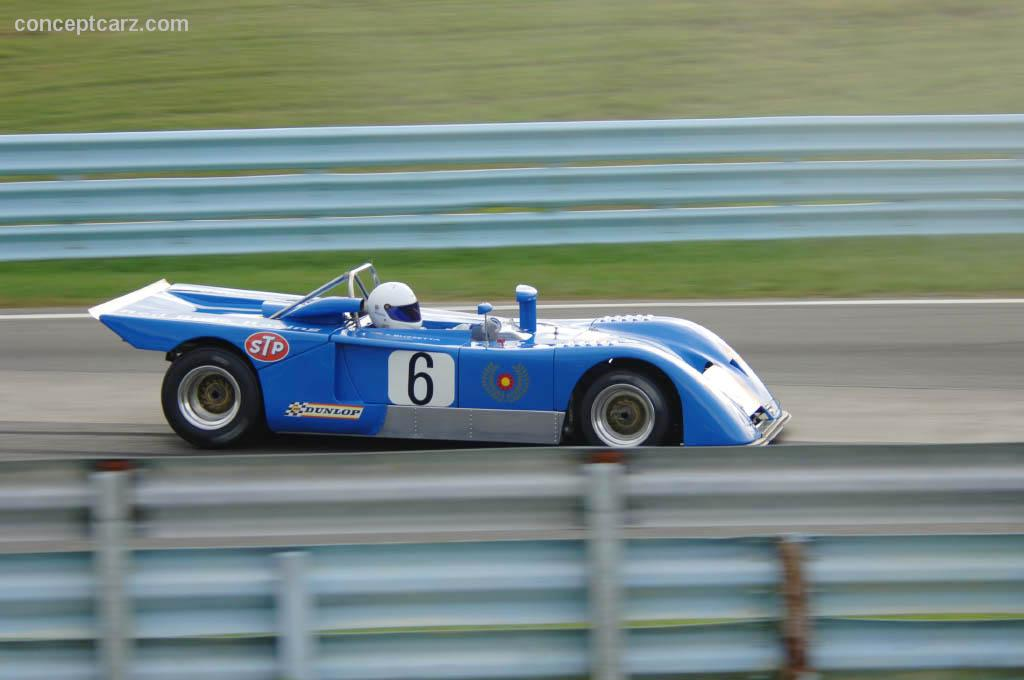1971 Chevron B19 Image Chassis Number Dve07