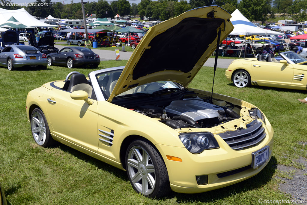 Auction results and sales data for 2005 Chrysler Crossfire ...