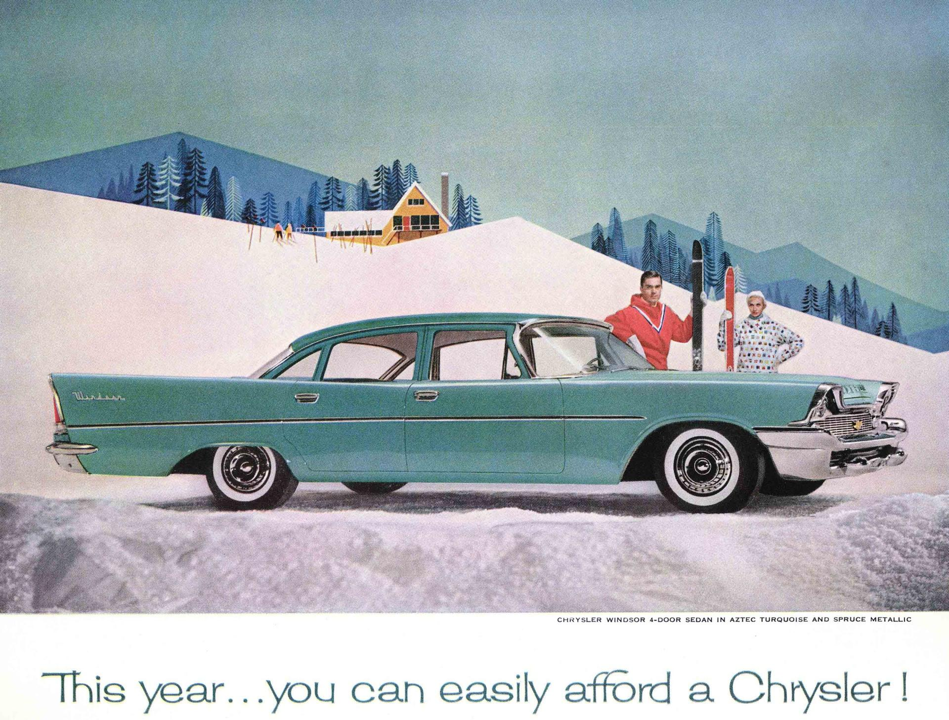 1960 Chrysler Windsor History Pictures Value Auction