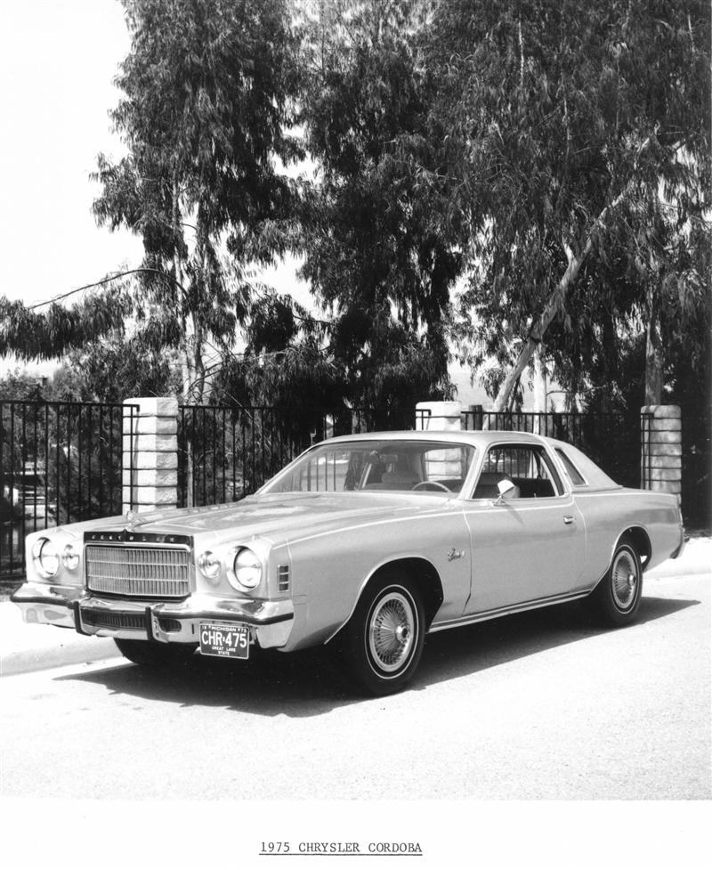 1975 Chrysler Cordoba pictures and wallpaper