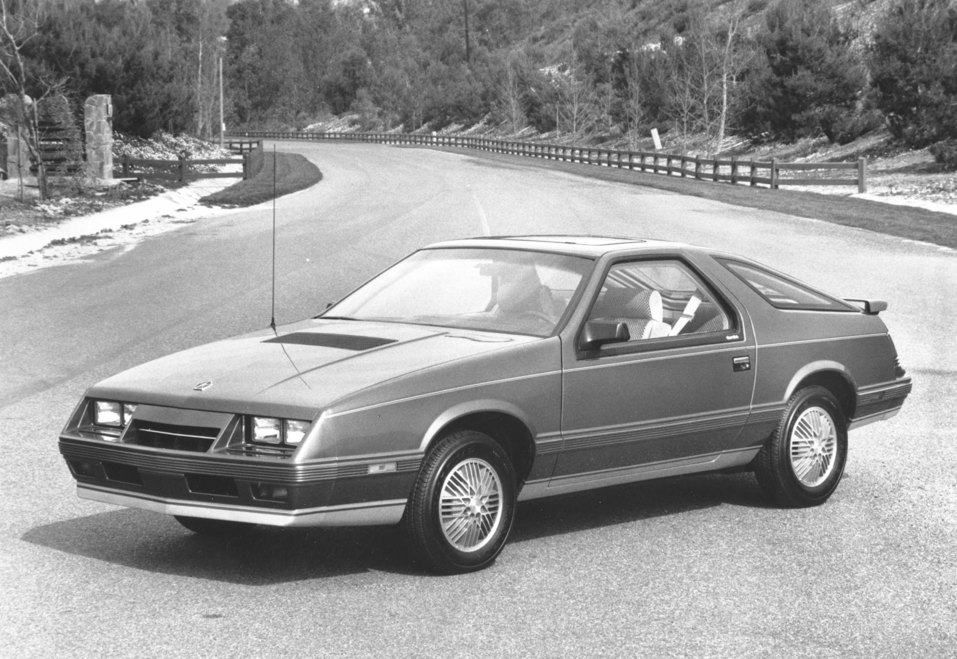 1984 Chrysler Laser Pictures History Value Research