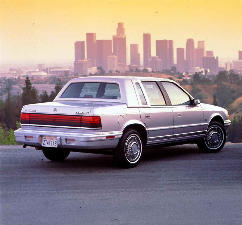 Auction Results And Sales Data For 1991 Chrysler LeBaron