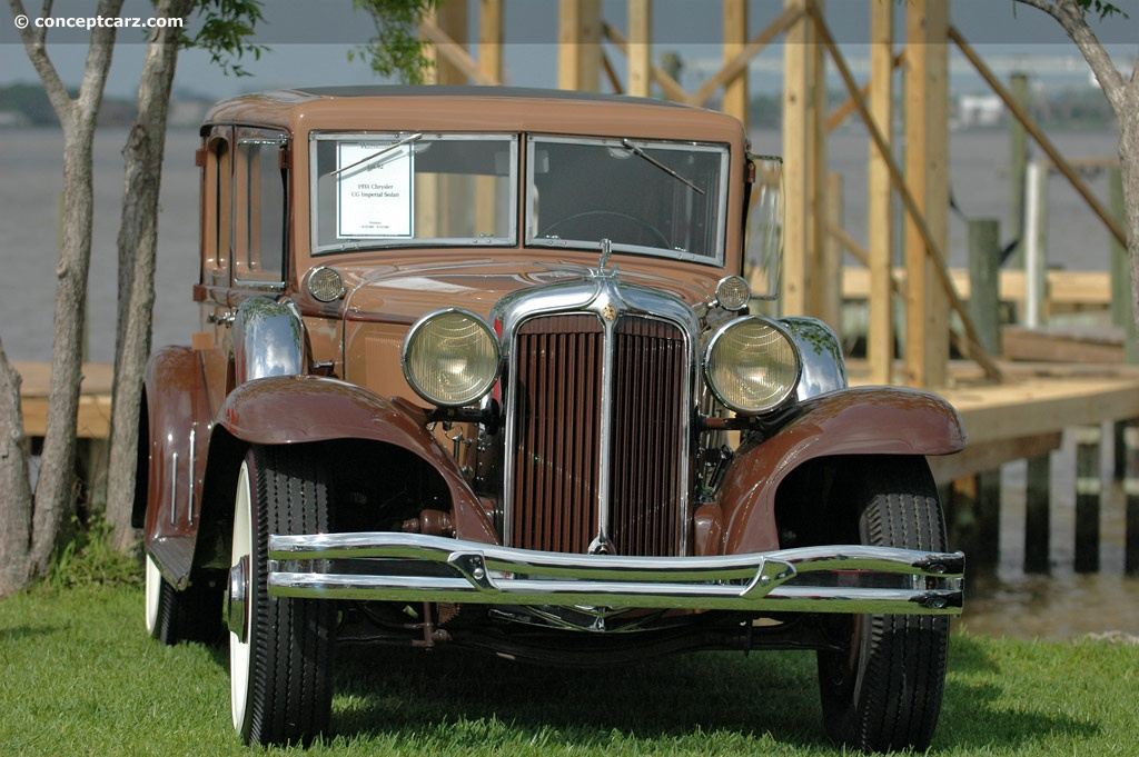 1931 Chrysler Cg Imperial Image Chassis Number 7800705