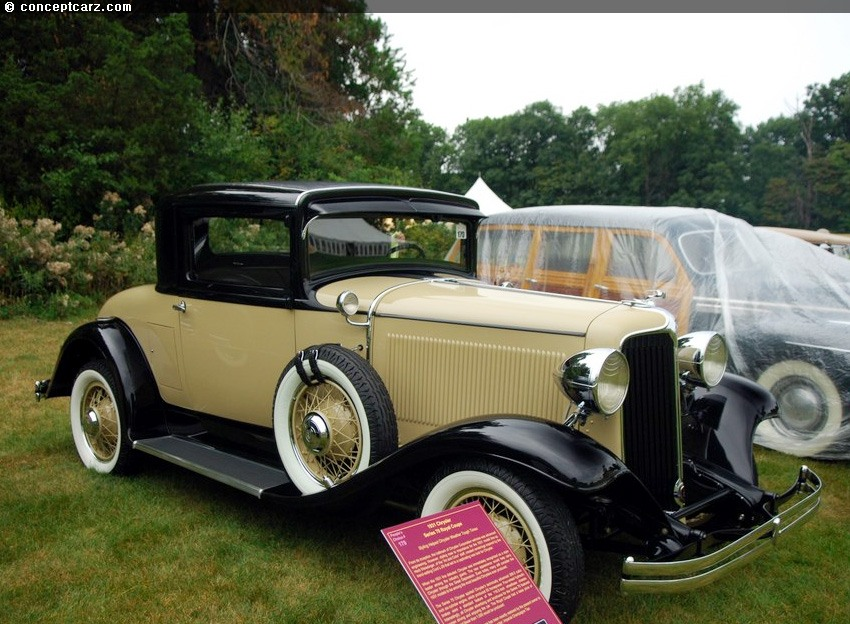 1931 chrysler series 70 pictures history value research news. Black Bedroom Furniture Sets. Home Design Ideas