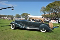 1933 Chrysler CL Custom Imperial.  Chassis number 7803657