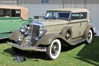 1933 Chrysler CQ Series Imperial.  Chassis number 7530043