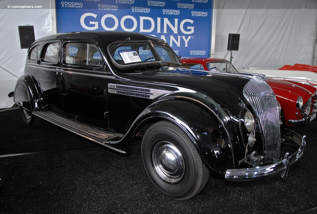 1936 Chrysler Custom Imperial Airflow C11 History, Pictures, Value, Auction Sales, Research and News