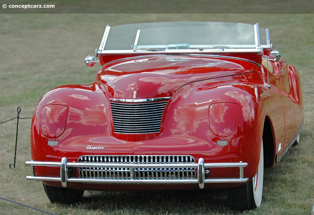 1940 Chrysler Newport Concept History, Pictures, Value, Auction Sales, Research and News