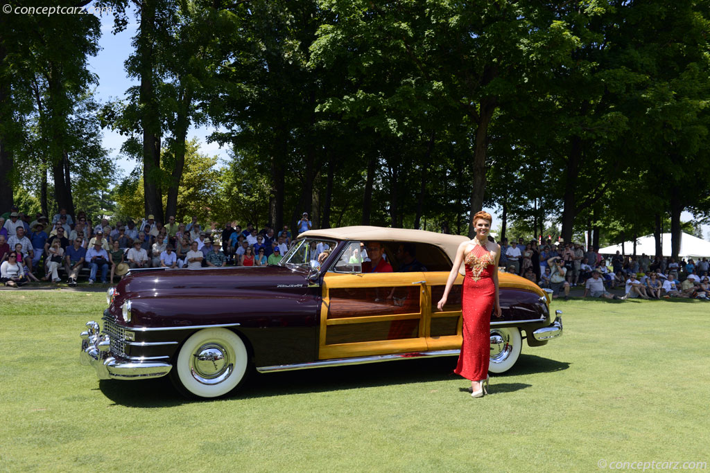 Auction Results And Sales Data For 1948 Chrysler Town And Country