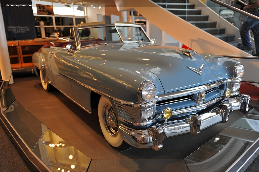 1951 Chrysler New Yorker History Pictures Value Auction