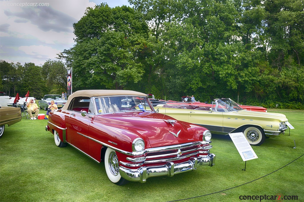 auction results and sales data for 1953 chrysler new yorker. Black Bedroom Furniture Sets. Home Design Ideas