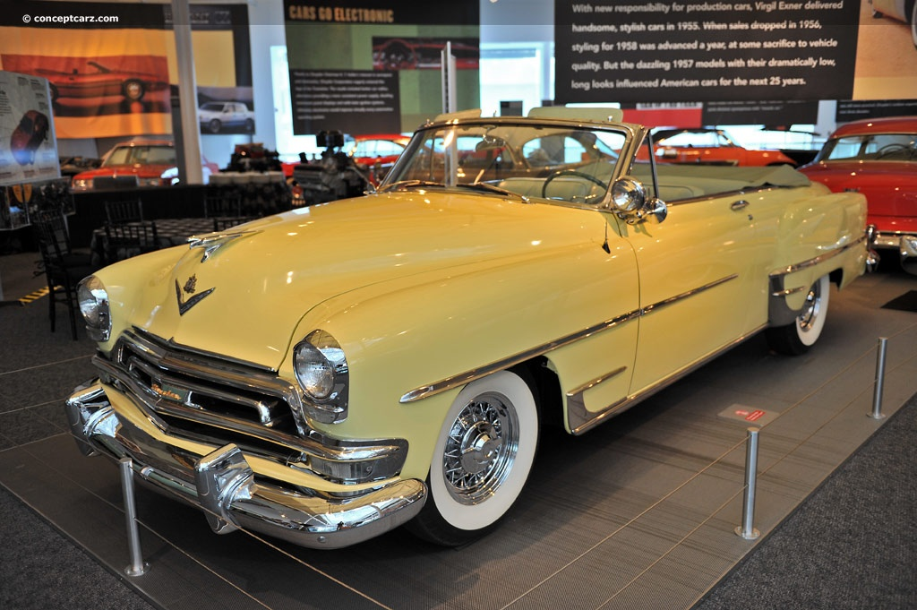 Town And Country Auction >> 1954 Chrysler New Yorker Pictures, History, Value, Research, News - conceptcarz.com