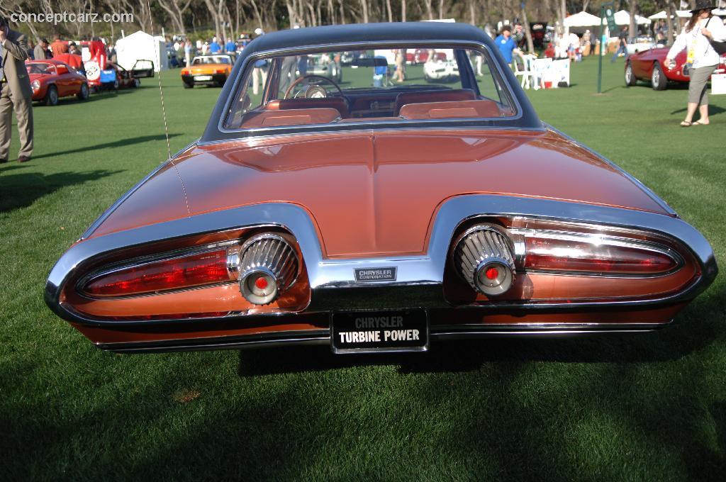 1963 Chrysler Turbine Image Https Www Conceptcarz Com