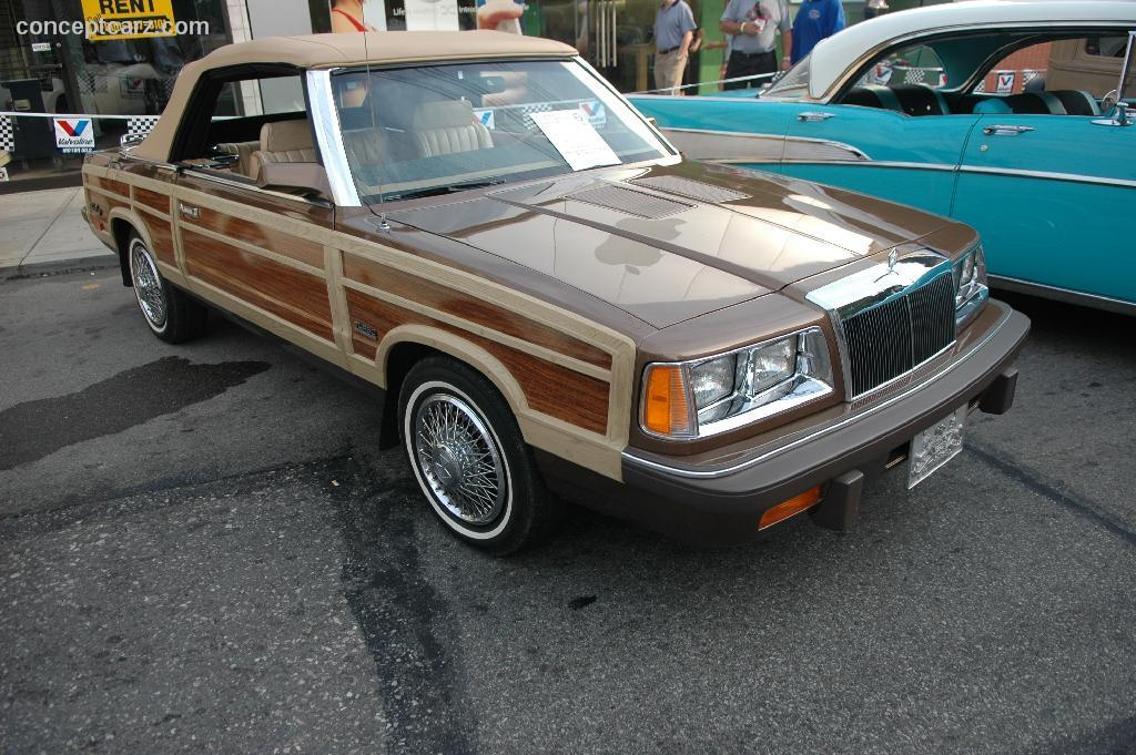 1986 chrysler lebaron technical and mechanical specifications fandeluxe Gallery