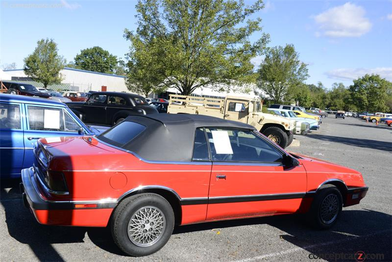 1989 Chrysler Lebaron Vehicle Information