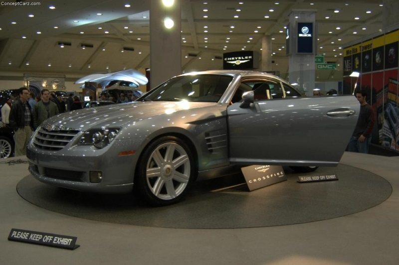 2001 Chrysler Crossfire Concept Image Photo 48 Of 97