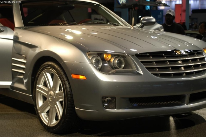 2001 Chrysler Crossfire Concept Image Photo 53 Of 97