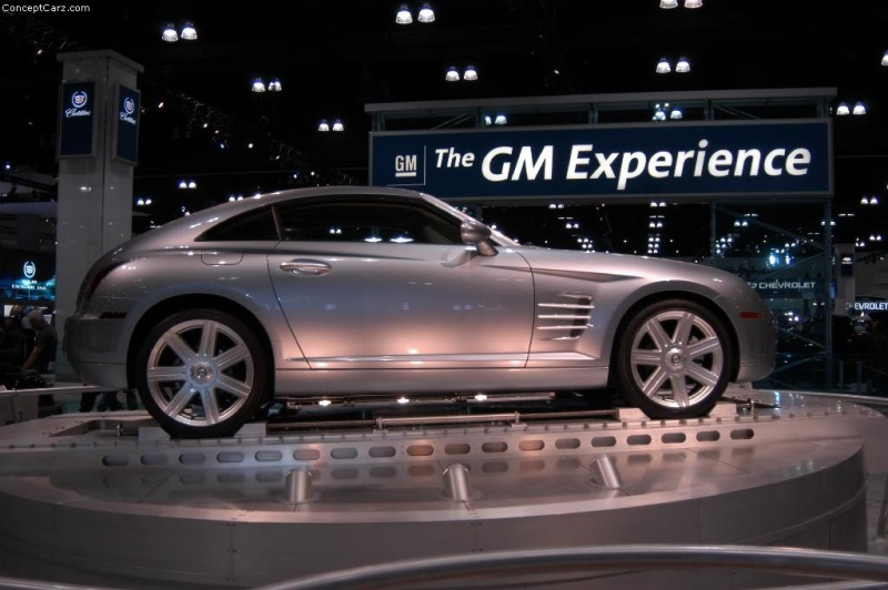 2001 Chrysler Crossfire Concept Image Photo 51 Of 97