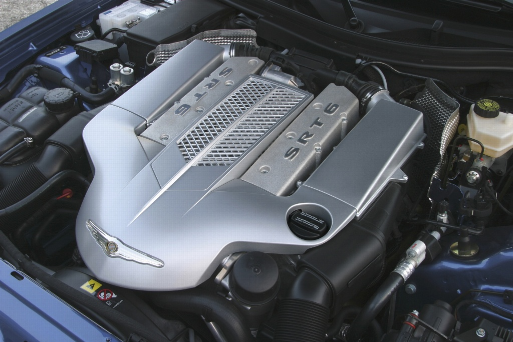 2003 chrysler crossfire history pictures value auction sales rh conceptcarz com 2005 Chrysler Crossfire SRT-6 Coupe Racing Chrysler Crossfire SRT-6