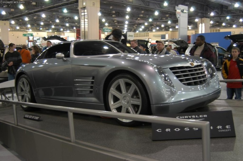 2001 Chrysler Crossfire Concept Image Photo 49 Of 97
