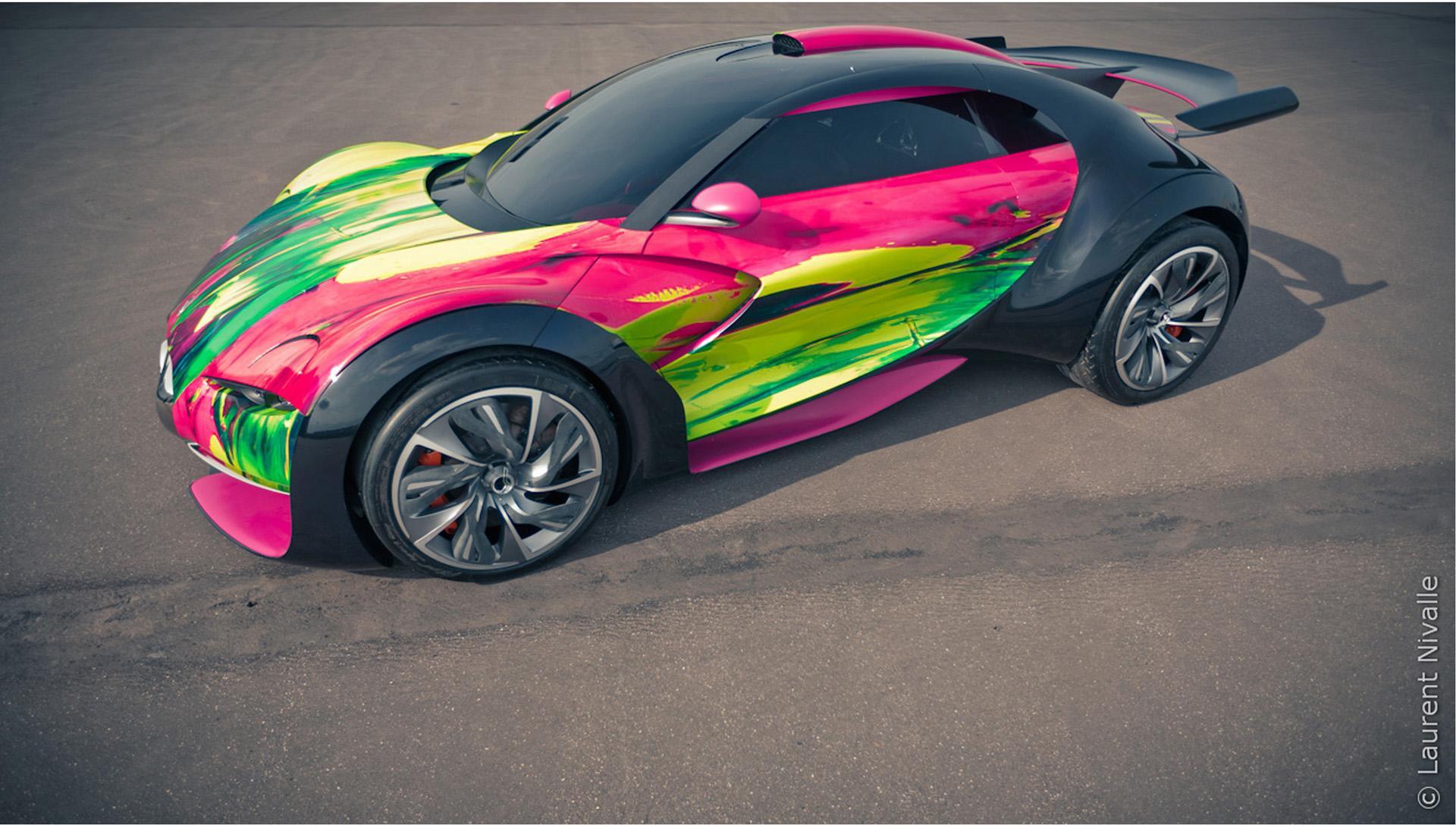 2010 Citroen Survolt Art Car Concept News and Information, Research ...