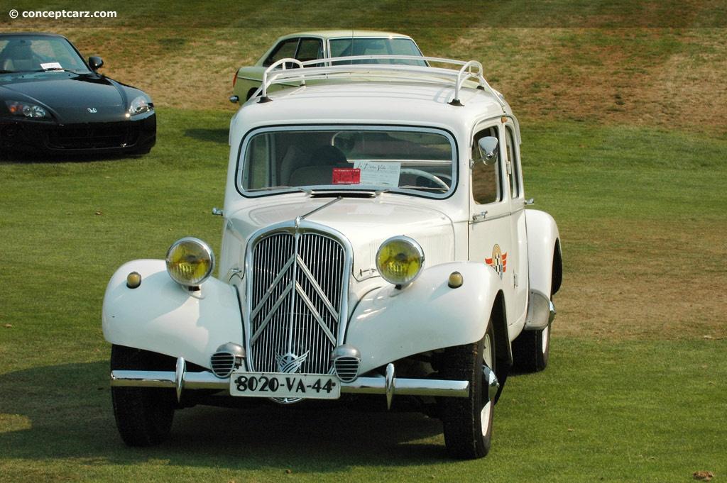 1955 Citroen Traction Avant Image
