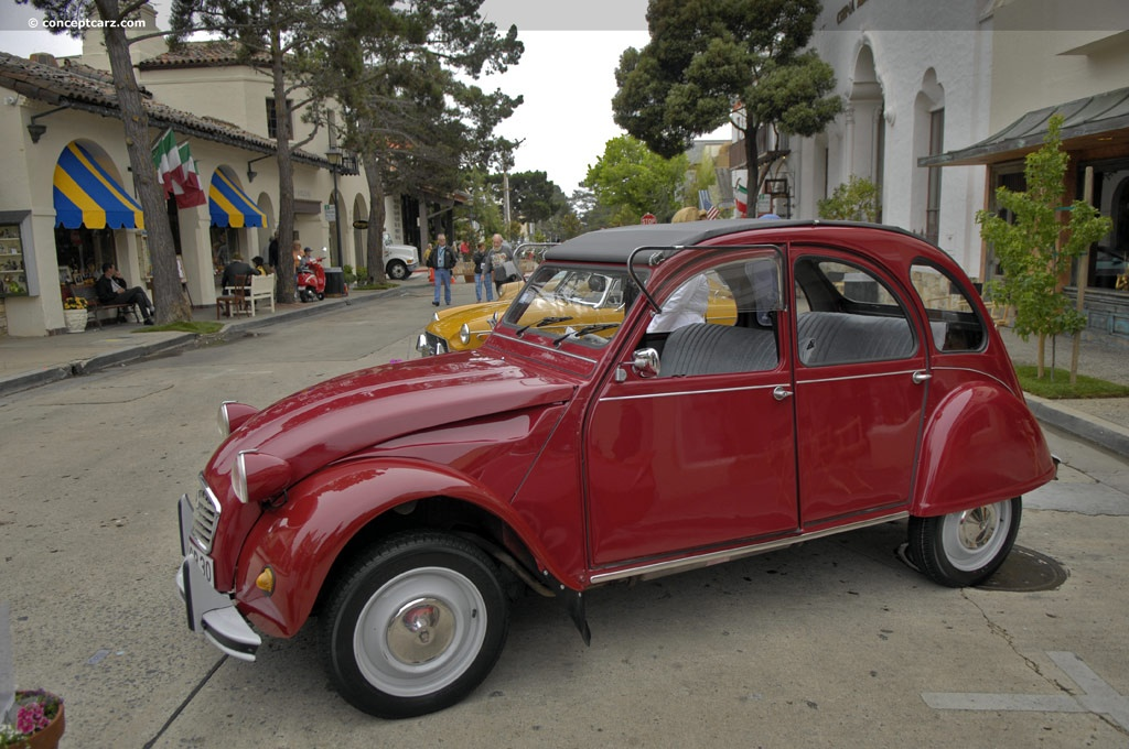 1971 Citroen 2cv Pictures History Value Research News