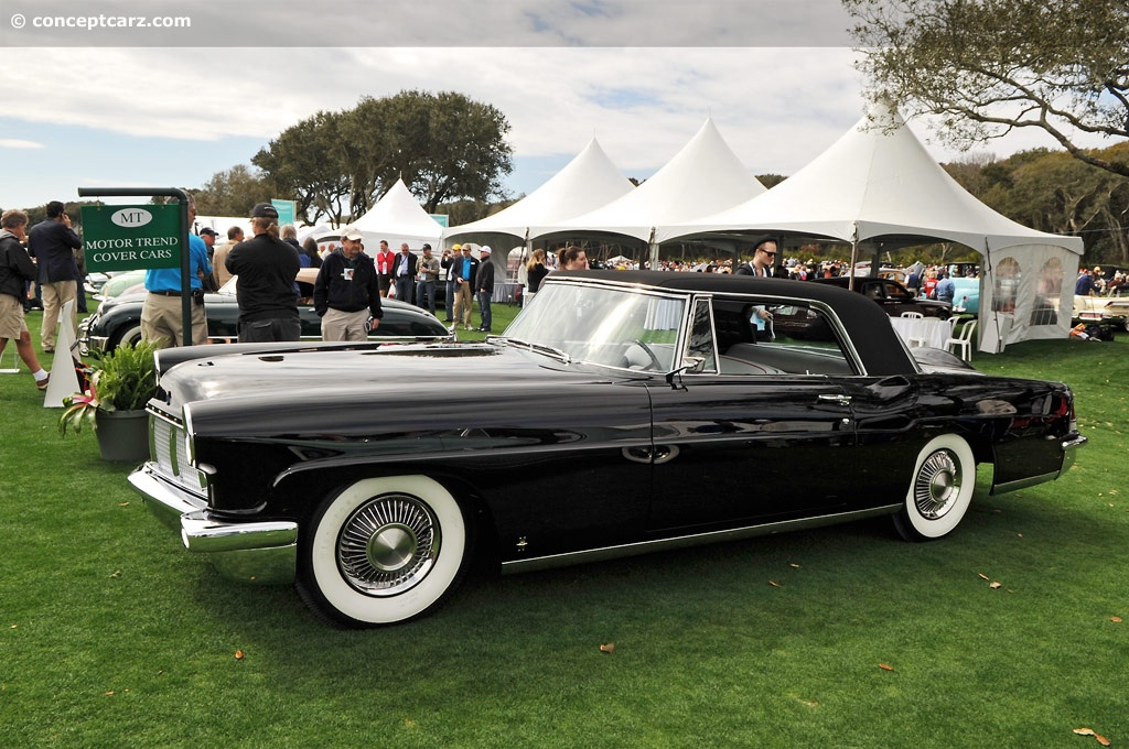 1956 Continental Mark II Image Chassis number C56A1762