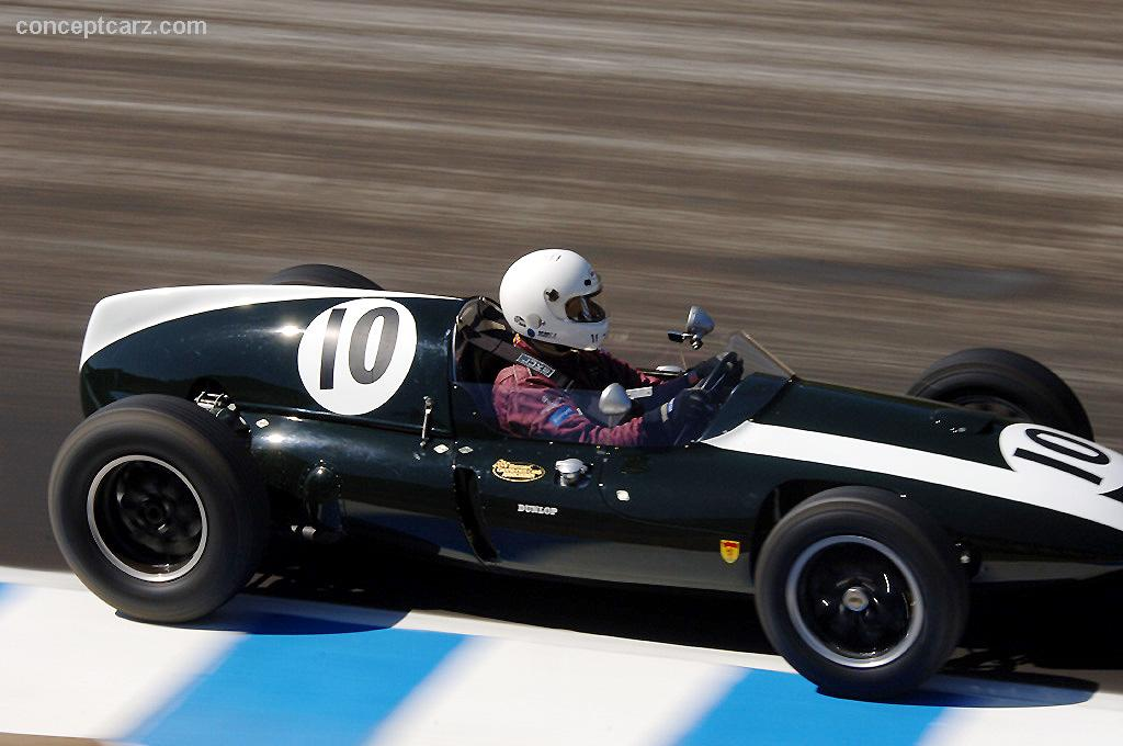 1958 Cooper T45 51 At The Monterey Historic Automobile Races