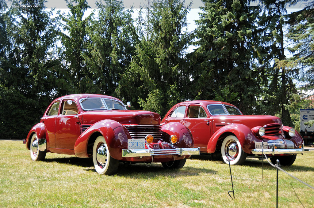 1936 cord 810 history pictures sales value research and for Cord motor car for sale