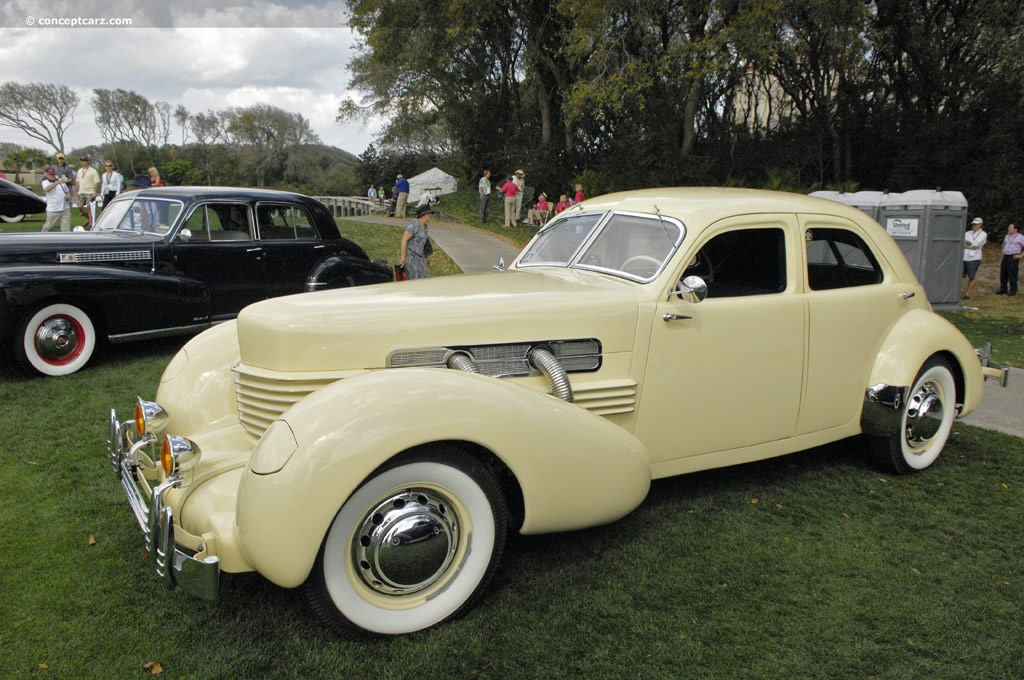 1937 Cord 812 At The Amelia Island Concours D Elegance