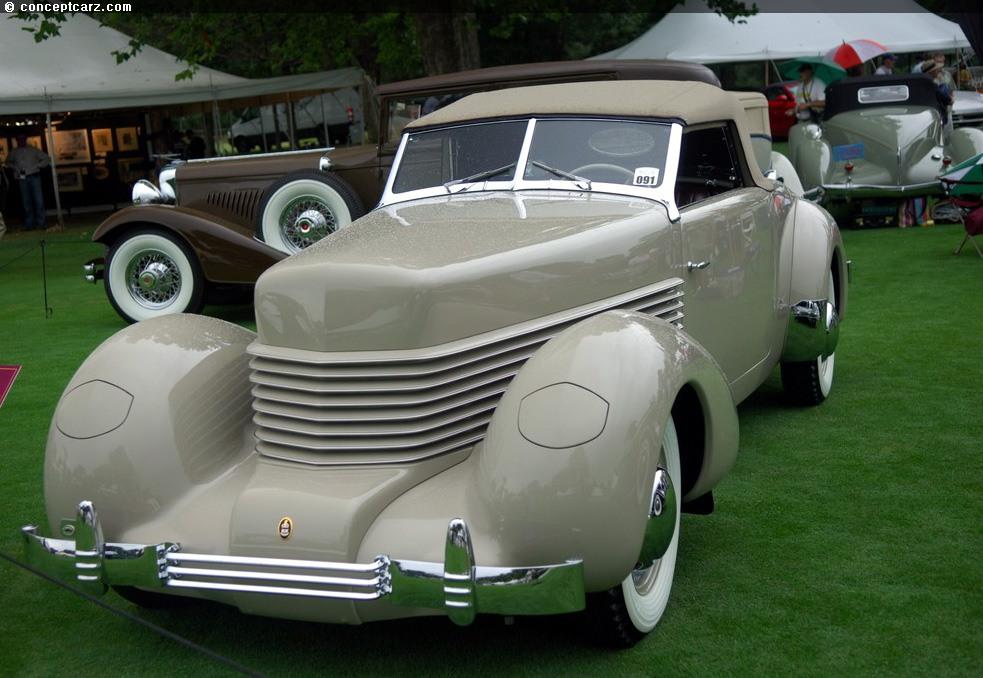1938 Cord 814 Prototype Image