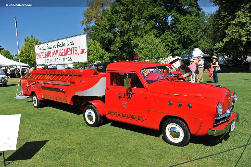 Toyota Hybrid Cars >> 1952 Crosley Model CD Fire Truck | conceptcarz.com