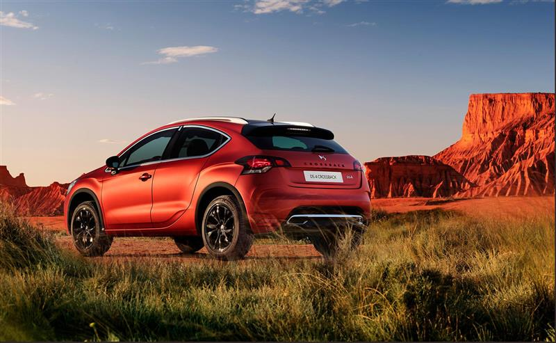 2016 Ds 4 Crossback Terre Rouge Limited Edition Image Photo 15 Of 16
