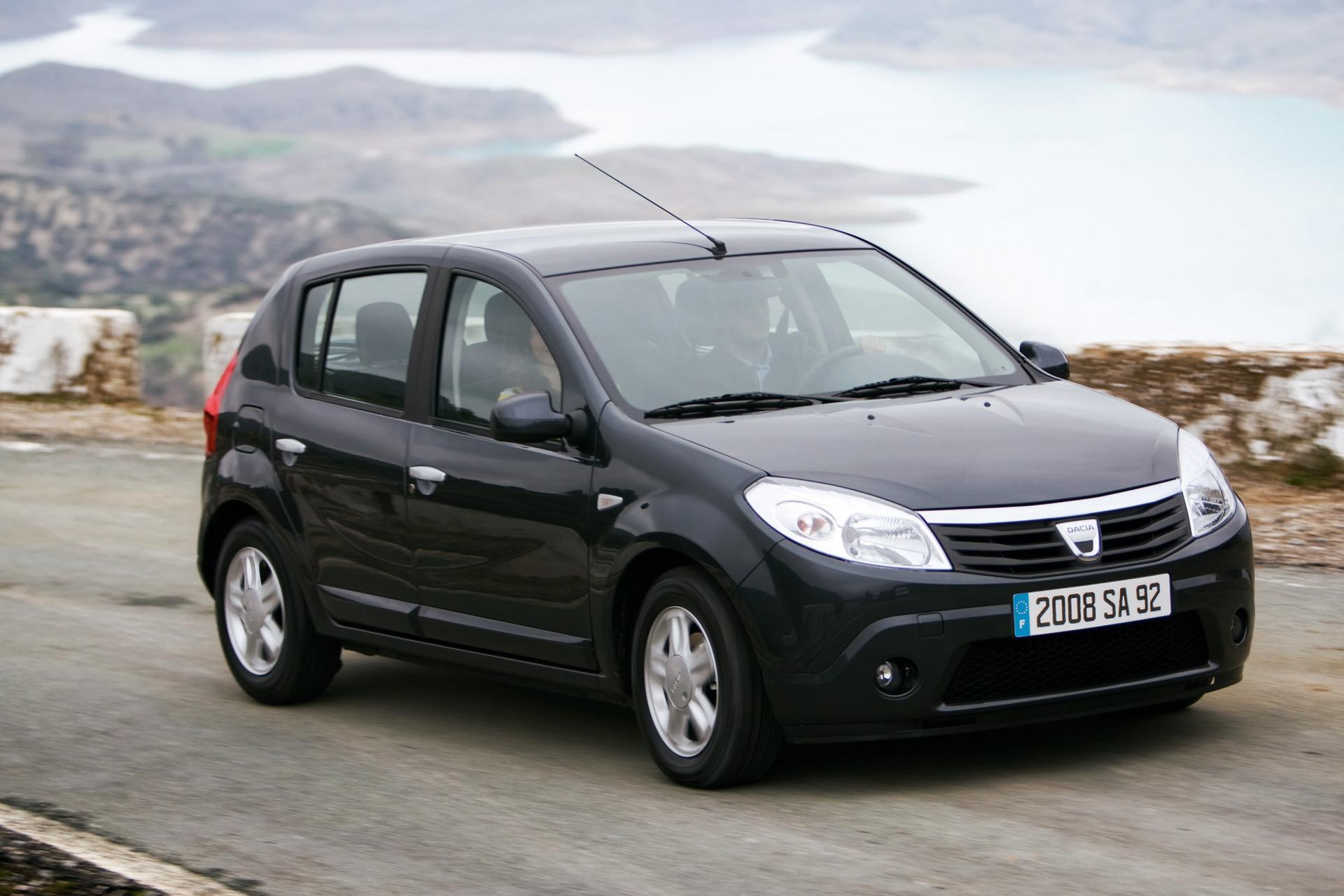 2009 dacia sandero news and information. Black Bedroom Furniture Sets. Home Design Ideas