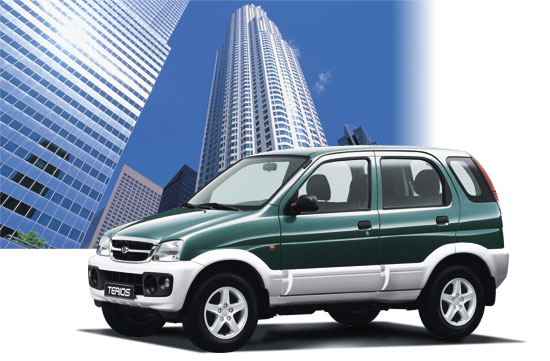 2005 Daihatsu Terios History Pictures Value Auction