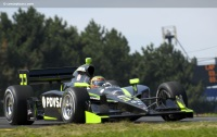 Image of the HVM Racing Indycar