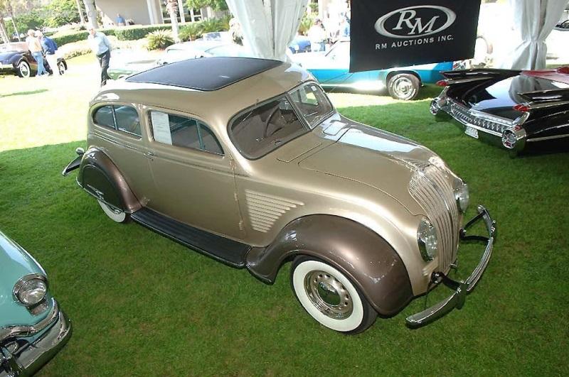 1934 Desoto Airflow At The Vintage Motor Cars At Amelia Island